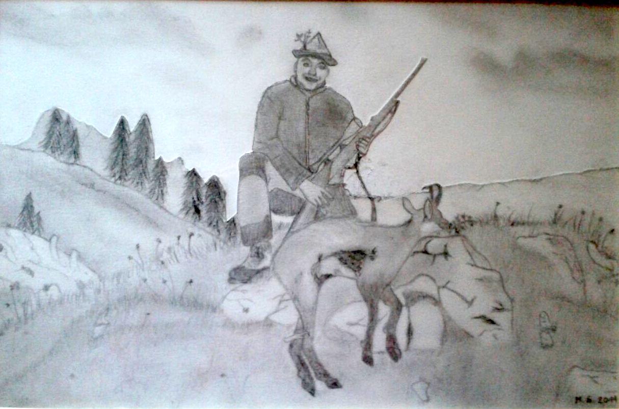 Jäger und Gejagter